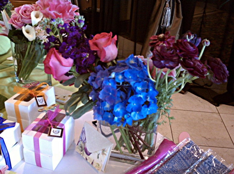 blue-purple-pink-arrangement